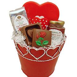 Wisconsin Valentine Treats Gift Basket