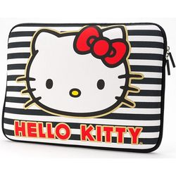 Hello Kitty 13-Inch Striped Laptop Case