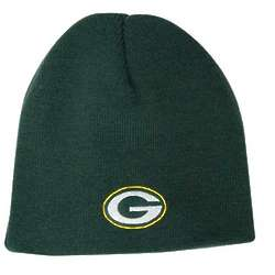 Green Bay Packers Youth Cuffless Knit Hat