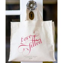 Personalized Love Filled Tote Bag