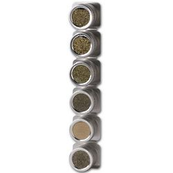 Magnetic Canister Spice Rack Set