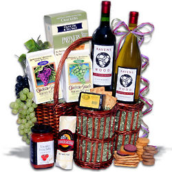 Mother's Day Wine Gourmet Gift Basket