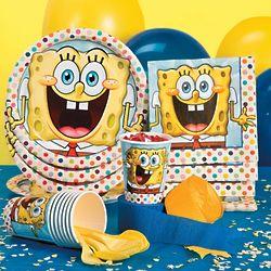SpongeBob SquarePants Tableware Basic Party Pack