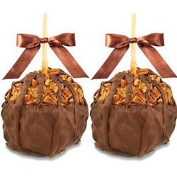 Gourmet Chocolate Turtle Caramel Apples