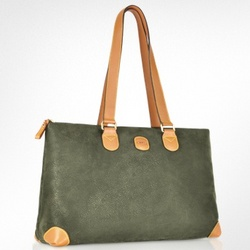 Life Micro-Suede Tote Bag