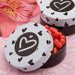 Adorable Heart Mint Tin