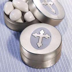 Silver Cross Mint Tins