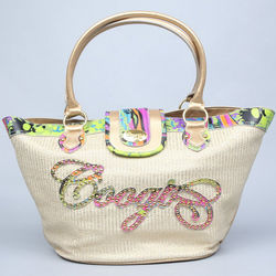 Jenna Collection Straw Tote Bag