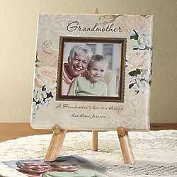 Grandmother's Love Personalized Photo Canvas