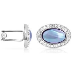 Mother of Pearl Silver-Plated Cufflinks
