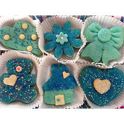 Blue Without You Sugar Cookie Gift Box