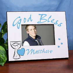 First Holy Communion Personalized Printed Frame