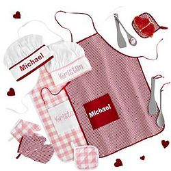 Personalized Kid's Apron Set