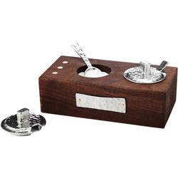 Walnut Wood Salt and Pepper Box