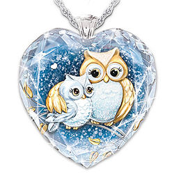 Granddaughter Owl Always Love You Personalized Necklace