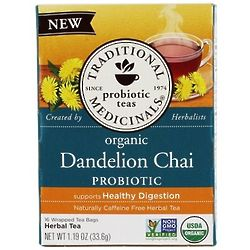 Organic Dandelion Chai Probiotic Tea