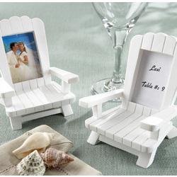 Beach Memories Miniature Adirondack Chair Place Card/Photo Frame