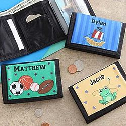 Personalized Boys Character Wallet