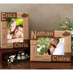 Personalized I Love You in So Many Ways Wooden Picture Frame