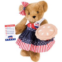 Mom for President Teddy Bear