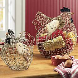 Elmore Wire Hen Baskets