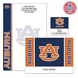 Personalized Auburn University Stationery
