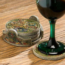 Celtic Coasters Set
