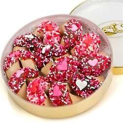 Romantic Wheel of Fortune Cookies