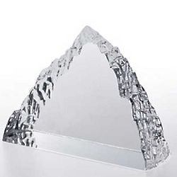 Clear Peak Iceberg Crystal Award