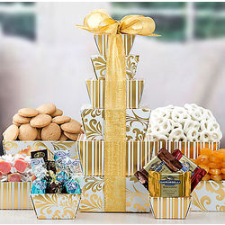 Chocolate and Sweets Gift Tower