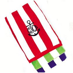 Personalized Striped Beach Towel