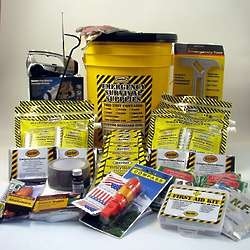 Two Person Deluxe Emergency Honey Bucket Kit