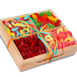 Candy Collection Gift Basket