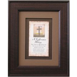 A Confirmation Blessing Plaque