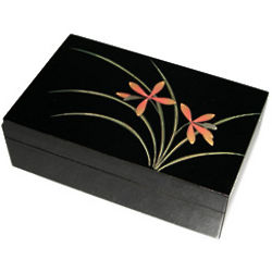 Orchid Jewelry Box