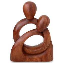 Eternity of Love Wood Sculpture