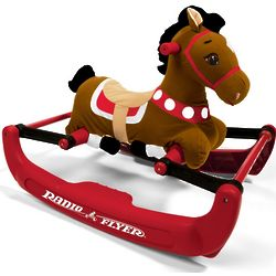 Soft Rock and Bounce Pony Rocking Horse