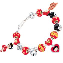 Betty Boop Charm Bracelet