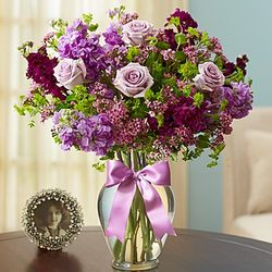 Shades of Purple Floral Arrangement