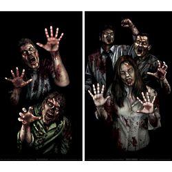 Halloween Double Window Poster