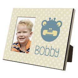 Little Boy's Personalized Monster Picture Frame