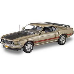 1969 Ford Mustang Mach 1 Diecast Car