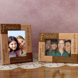 Personalized Friends Wooden Picture Frame