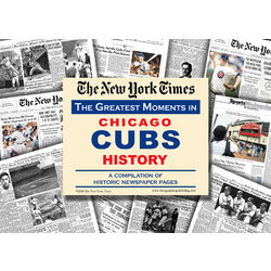 NY Times Greatest Moments in Chicago Cubs History