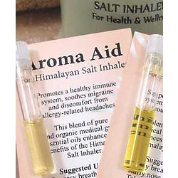 Aroma Aid Essential Oils for Salt Inhaler