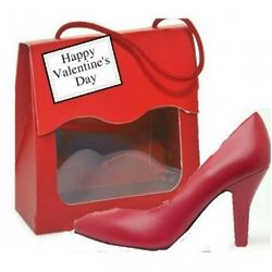 Chocolate Valentine Mini High Heel
