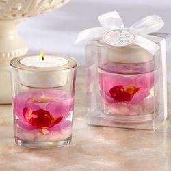 Elegant Orchid Tealight Holder Favor