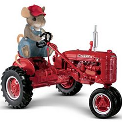 Farmall Charming Tails Mouse Figurine