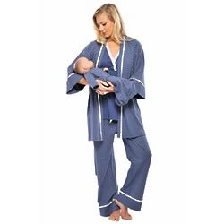 4 Piece Mom and Baby Pajama Set