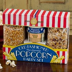 Old Fashioned Four Seasoning Popcorn Party Set